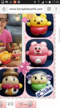 Disney Pokemon Balloons, Disney Balloons, Balloons And More, Mini Balloons, Tsum Tsum Party, Balloon Face, Diy And Crafts, Arts And Crafts, Balloon Modelling