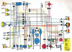 honda motorcycle wiring diagrams | diagram | pinterest | honda, Wiring diagram