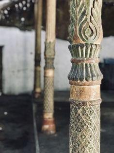 Langensuryo pendopo pillars