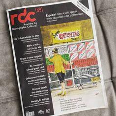 Tá esmerada mesmo essa edição de relançamento da RDC Revista de Divulgação Cultural da Furb. E não falo só pq tô envolvido nisso não! Muitos textos bons sobre assuntos bem interessantes. Recomendo pacas! #furb #rdc #revista #Blumenau #jornalismo