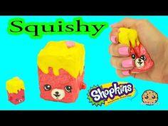 DIY Squishy Shopkins Season 5 Petkins Inspired Craft Do It Yourself - CookieSwirlC Video - YouTube