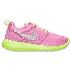 Girls' Grade School Nike Roshe Run Casual Shoes