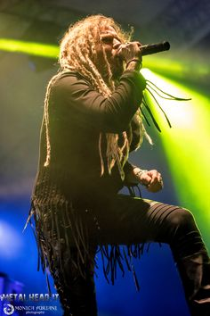 Jonne on stage at Fosch Fest in Bagnatica, Italy, on 24th July 2016