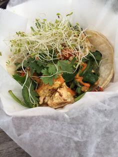 The Vegan Nom - Austin, TX, United States. Mega taco.