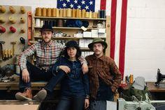 Jack Knife Crew @ their studio in SF