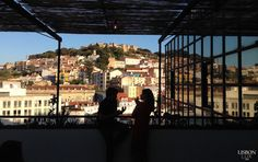 The Best Rooftop Bars in Lisbon Portugal Travel, Spain And Portugal, Portugal Trip, Visit Lisboa, Best Rooftop Bars, Louvre, Around The Worlds, Europe, Good Things