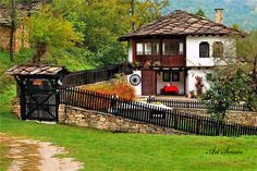 Village in Bulgaria Orient House, Perfect World, Bulgarian, Traditional House, Architecture, Bird Houses, My Dream Home, Beautiful Homes, House Beautiful