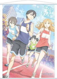 sword art online girls ~ Anime , sword art online kirito and asuna Anime Chibi, Manga Anime, Sao Anime, Kawaii Anime, Sword Art Online Asuna, Sword Art Online Movie, Otaku Anime, Anime Boys, Online Anime
