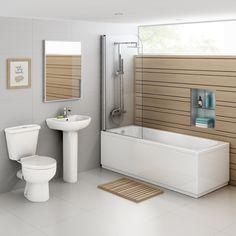 Crosby Straight Bath Suite