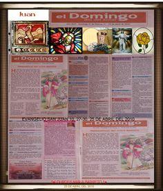 †EVANGELIOS ASISTIDOS,CONFESIÓN Y EUCARISTÍA†EVANGELIO SAN JUAN 10, 27-30. 25 DE ABRIL DEL 2010††♠LOURDES MARIA BARRETO †♠