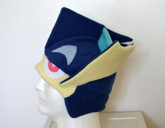 Greninja Pokemon Fleece Hat with Earflaps