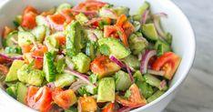 Salade de Concombre, Tomates, Avocat !
