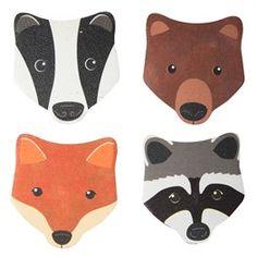 Woodland Animals Nail File