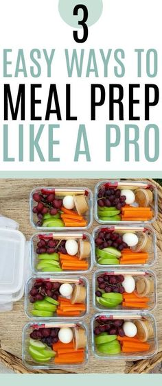 If you're on a budget, learn to meal prep! This meal prep guide for beginners will show you how!
