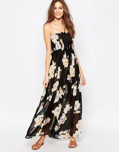 Image 1 ofPia Rossini Pasadena Floral Maxi Dress