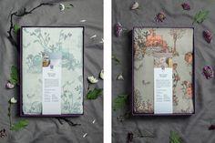 Sian Zeng | Bed linen packaging on Behance