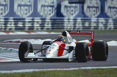 #OnThisDay 1992 at Monza, Ayrton Senna in #McLarenHonda MP4/7A scored his last…