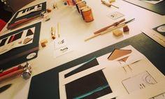 Ready ! @kitsfeoni #cuir #travauxmanuels #leather #atelier #handmade