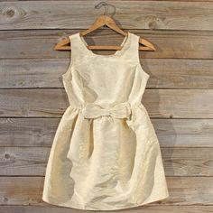Golden Dusk Dress