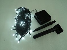 Solar String Lights By Justup 100 LED 17meter  Starry  Fairy  Party  Outdoor  Christmas Decorating Waterproof  No Batteries Required Brighten Your Patio Now *** Check out the image by visiting the link.