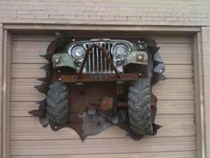 Jeep at Rock City Burger. Jeep Cj7, Jeep Rubicon, Jeep Wrangler Unlimited, Jeep Wranglers, Jeep Jeep, Jeep Garage, Chevy, Car Furniture, Jeep Grill