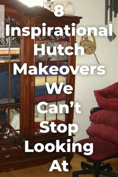 Inspiration for your next hutch makeover! You