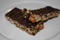 Veganeren: Müslibar med sjokolade