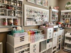 Organization Solutions for A Craft Room