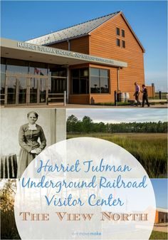 The new Harriet Tubman Underground Railroad Visitor Center opens to the public March 11, 2017 with interpretive exhibits of her life, legacy and landscapes.