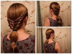 Hair Inspired by Caris from the Mini Series 'World Without End.' by LaDollyVita33