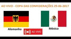 ALEMANHA 0 X 0 MÉXICO - AO VIVO - COPA DAS CONFEDERAÇÕES  29-06-2017