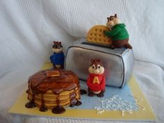 Alvin & the Chipmunks By stephivey on CakeCentral.com