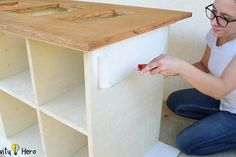 Homemade 3 in 1 Multipurpose Workbench: Table Saw, Router Table and Inverted Jigsaw (Free Plans) : 15 Steps (with Pictures) - Instructables Workbench Table, Woodworking Table Saw, Router Table, Woodworking Projects Diy, Woodworking Shop, Diy Projects, Overlay Cabinet Hinges, Circular Table, Workshop Storage