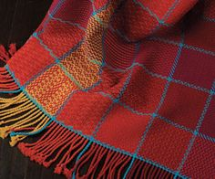 Make hand woven throw blankets with tips and patterns in this free eBook!