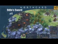 """""""Northgard is a strategy game based on Norse mythology in which you control a clan of Vikings vying for the control of a mysterious newfound continent. Steam Summer Sale, John Snow, Future Videos, Strategy Games, Norse Mythology, Winter Is Coming, Continents, Cool Things To Make, Vikings"""