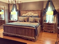 Draperies, cornices, bedspread and pillows Cornices, Bedspread, Drapery, Pillows, Furniture, Home Decor, Mantels, Quilt, Homemade Home Decor