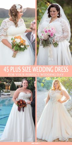 Gorgeous plus size styles with sleeves, click view more ideas!