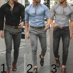 Formal Dresses For Men, Formal Men Outfit, Men Formal, Formal Wear, Mens Fashion Wear, Suit Fashion, Fashion Photo, Fashion Outfits, Business Casual Men