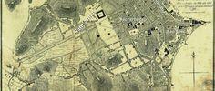 Planta da cidade do Rio de Janeiro e seus distritos (1826). Fonte: Arquivo Nacional IN: Planos Urbanos do Rio de Janeiro - séc. XIX (2008).
