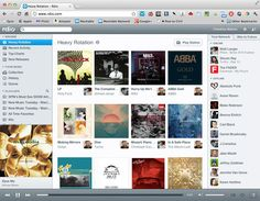 The new Rdio music discovery interface - I'd pay for that...