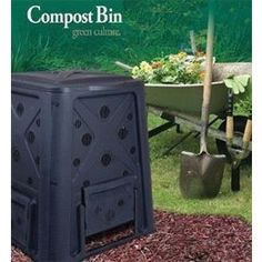 This 65 gallon #compost bin will effectively generate garden gold (compost) for years to come. Aerate easily with no turning or twisting. #garden #outdoors