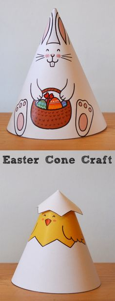 Easter Cone Animal Craft