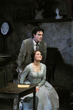"Anna Netrebko and Rolando Villazon in ""La Bohéme"" by Giacomo Puccini."