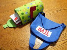 Kids play mail set tutorial