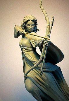 Sancta Simiana Umbracora zerstörte den Basiliskenkönig, befreite Umbracors Karfunkel, tötete den Drachen Ardakor und wurde von Hesinde mit ewiger Jugend belohnt  (art by: Mark Newman)
