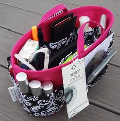 Purse ORGANIZER insert SHAPER / 105 x 4  by DivideAndConquer, $33.95