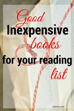 Good Inexpensive Books for your Reading List