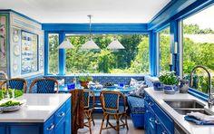 ¿Cansado de tu #cocina simplona y sin personalidad? Echa un vistazo a estas #cocina coloridas. ¡No querrás más que cocinar y cocinar! #Kitchen #deco #Colors