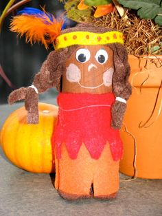 Thanksgiving kids crafts Our Favorite little indian to celebrate Autumn
