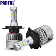 CREE Chips H4 H7 H11 9006 9005 H13 LED Auto Scheinwerferlampen 72 Watt CSP Led-scheinwerfer Alles in einem Scheinwerfer Auto Nebelscheinwerfer 12 V